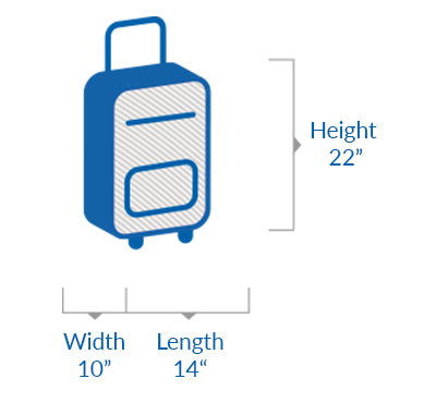 Illustrative image of hand baggage