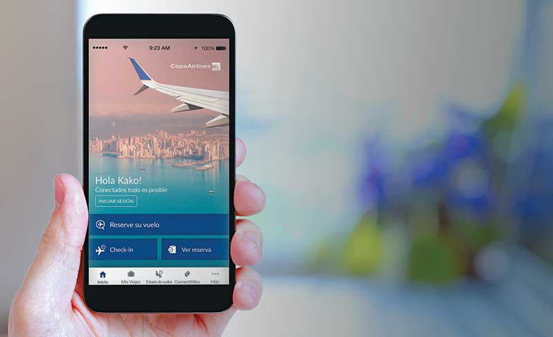 Copa Airlines Mobile app