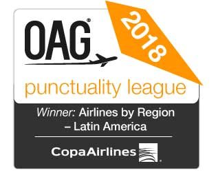 OAG Copa Airlines 2018