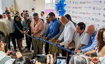 Opening event at Puerto Vallarta Airport
