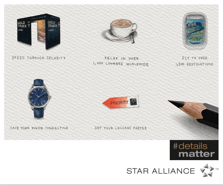 Star Alliance #Details Matter