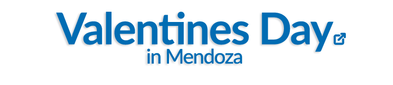 Valentines day in Mendoza