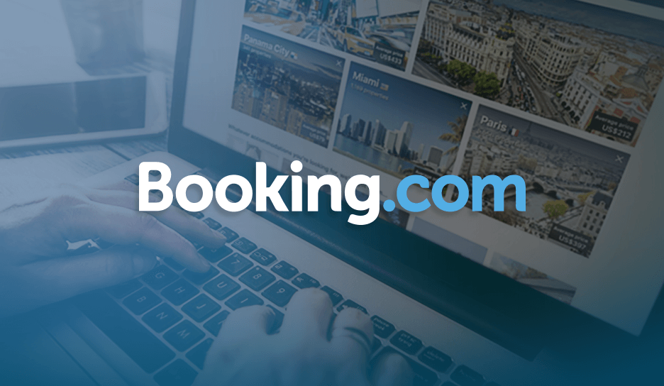Earn 6x miles with Booking.com