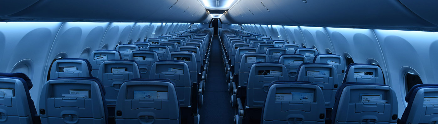 Inside of Boeing 737-MAX 9