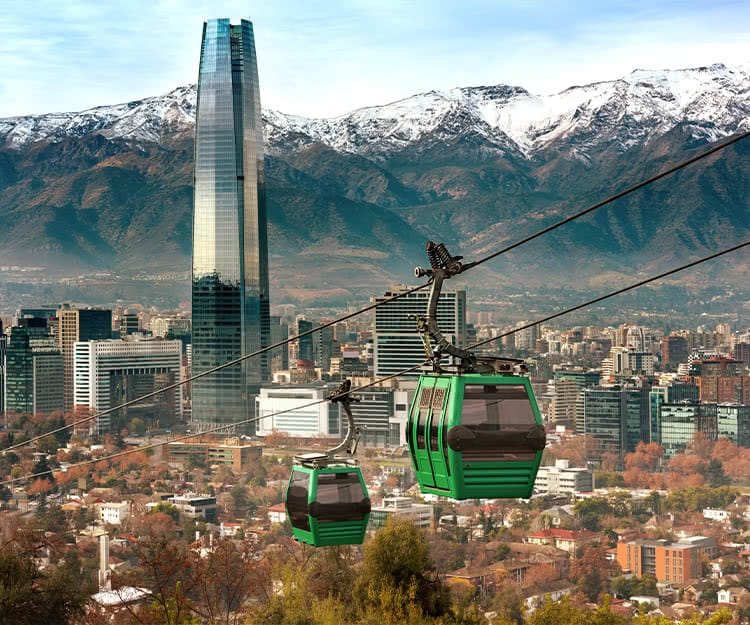 Santiago de Chile Destination of the month