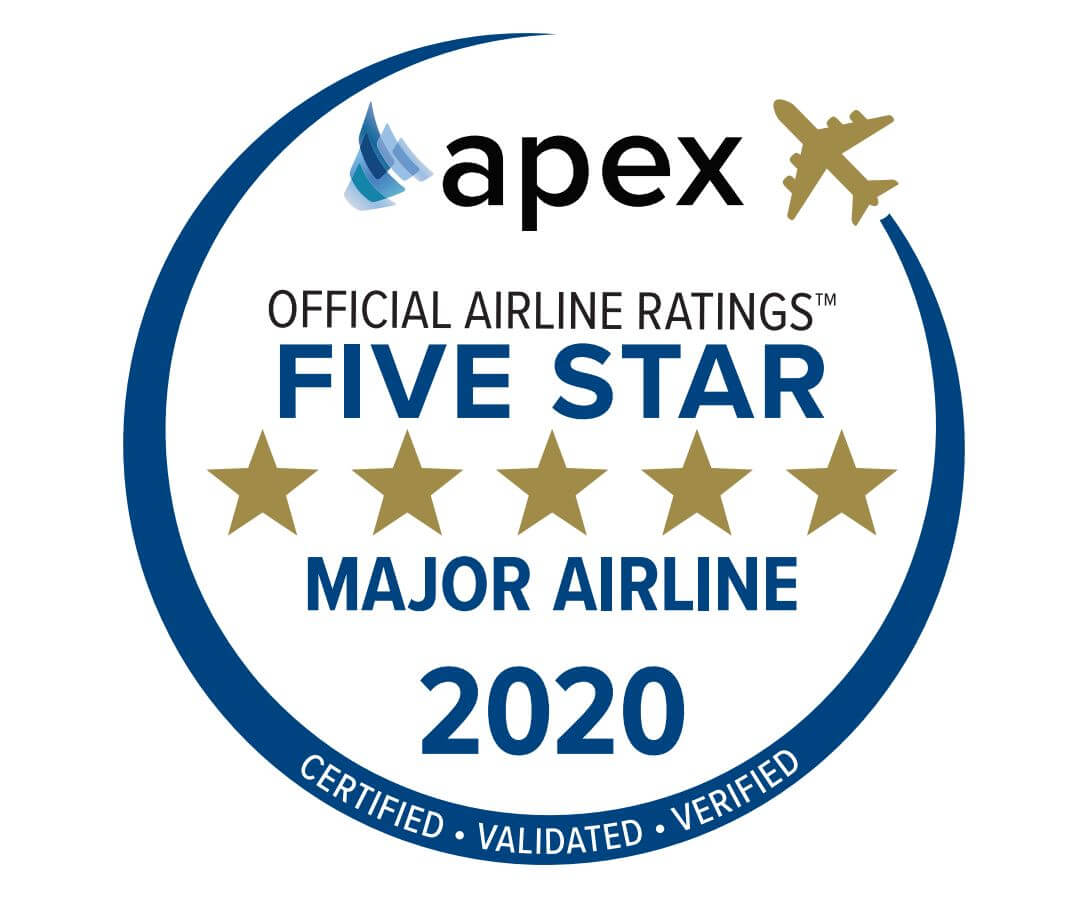 Copa Airlines is lauded as an APEX 2020 Five-star Airline
