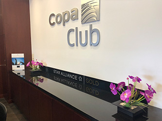 Copa Club's lobby at Medellin