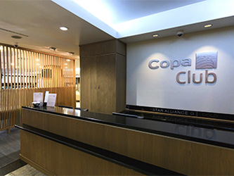 Copa Club's lobby at Panama