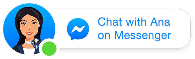 Chat with Ana on Facebook Messenger