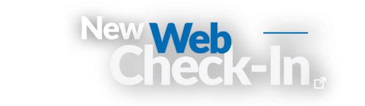 Try our new Web Check-In