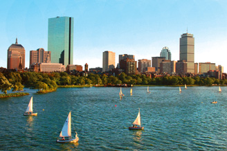 Novo voo Boston