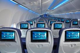 Dentro do Boeing 737-800