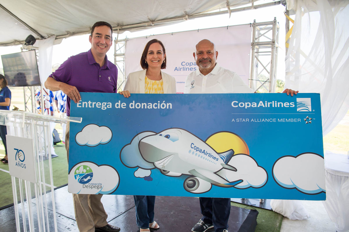 Copa Airlines raises funds to support numerous foundations