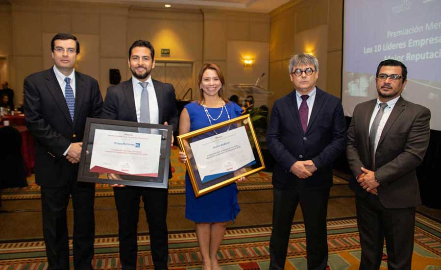 Copa Airlines ranks second among companies with the best corporate reputation in Panama