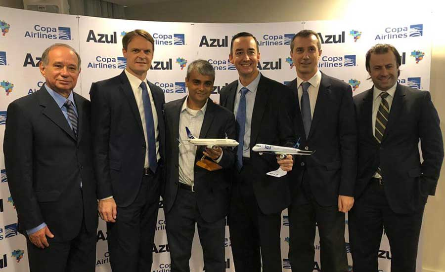 Azul and Copa Airlines announce new codeshare and improved frequent flyer program agreements