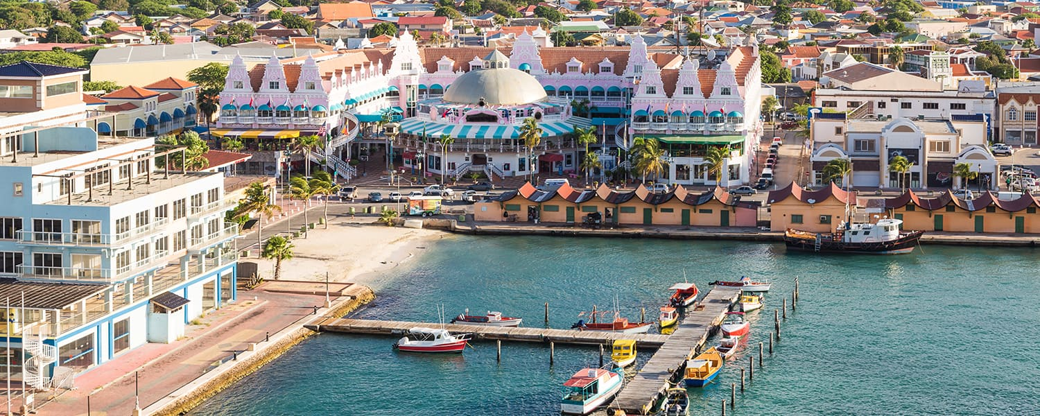 Find Copa Airlines flights from Haiti to Aruba