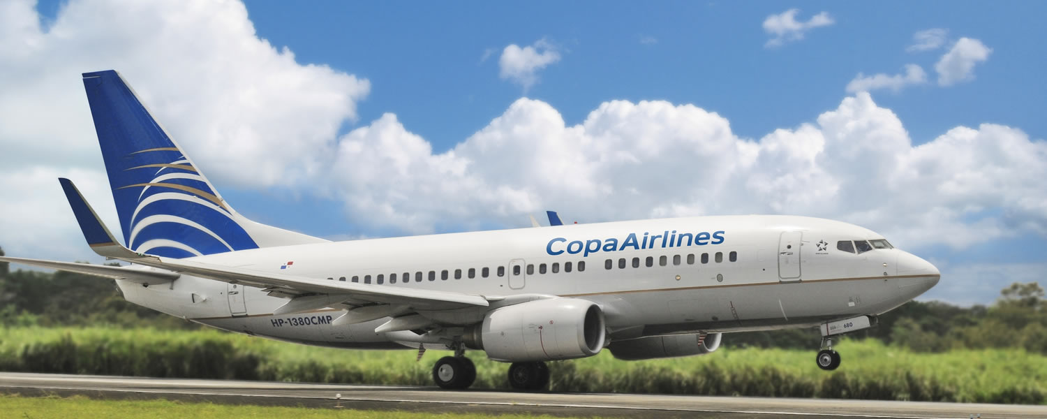 Copa Air airplane