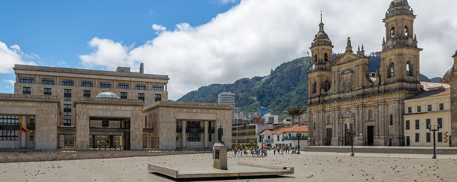 Find flights from San Francisco (SFO) to Bogota (BOG)