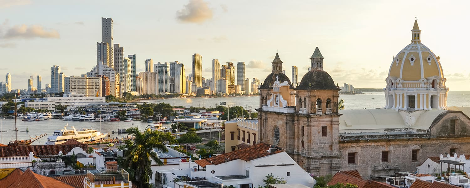 Find flights from San Francisco (SFO) to Cartagena (CTG)