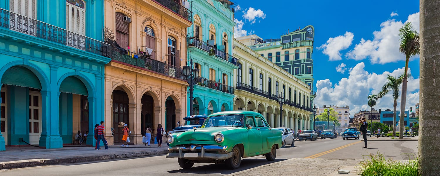 Find flights from Recife (REC) to Havana (HAV) from BRL 1.866*