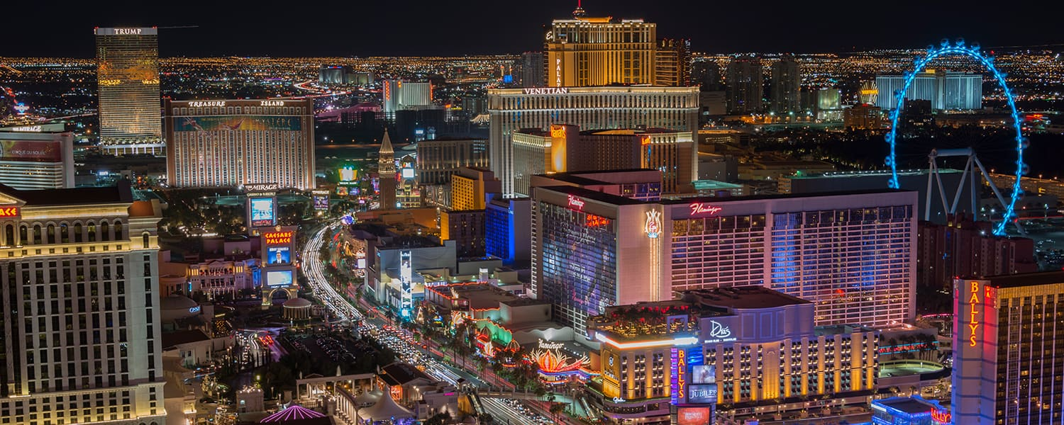 Find flights from Panama City (PTY) to Las Vegas (LAS) from USD 455*