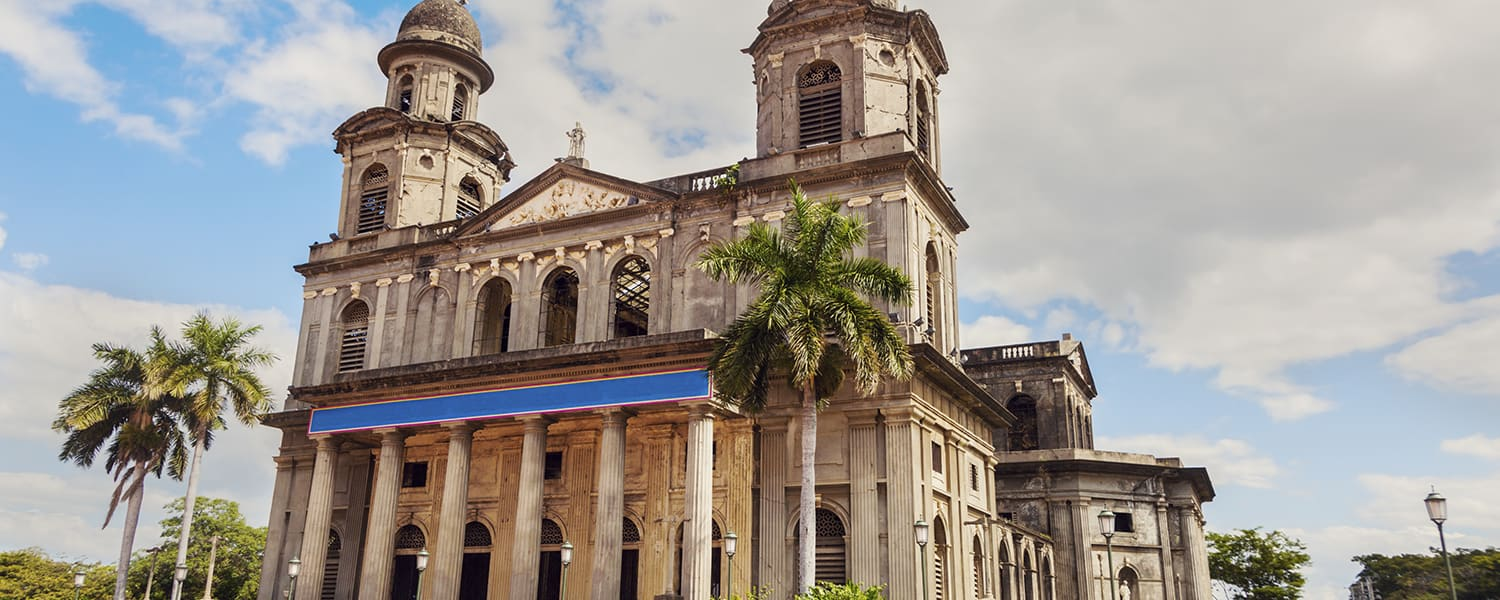 Find flights from Mexico City (MEX) to Managua (MGA) from USD 428*