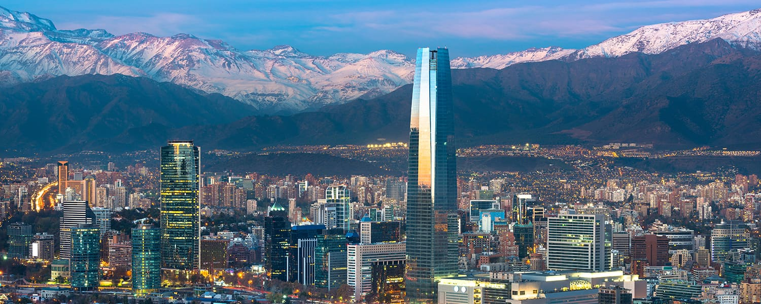 Find Copa Airlines flights from Mexico City (MEX) to Santiago (SCL) from USD 416*