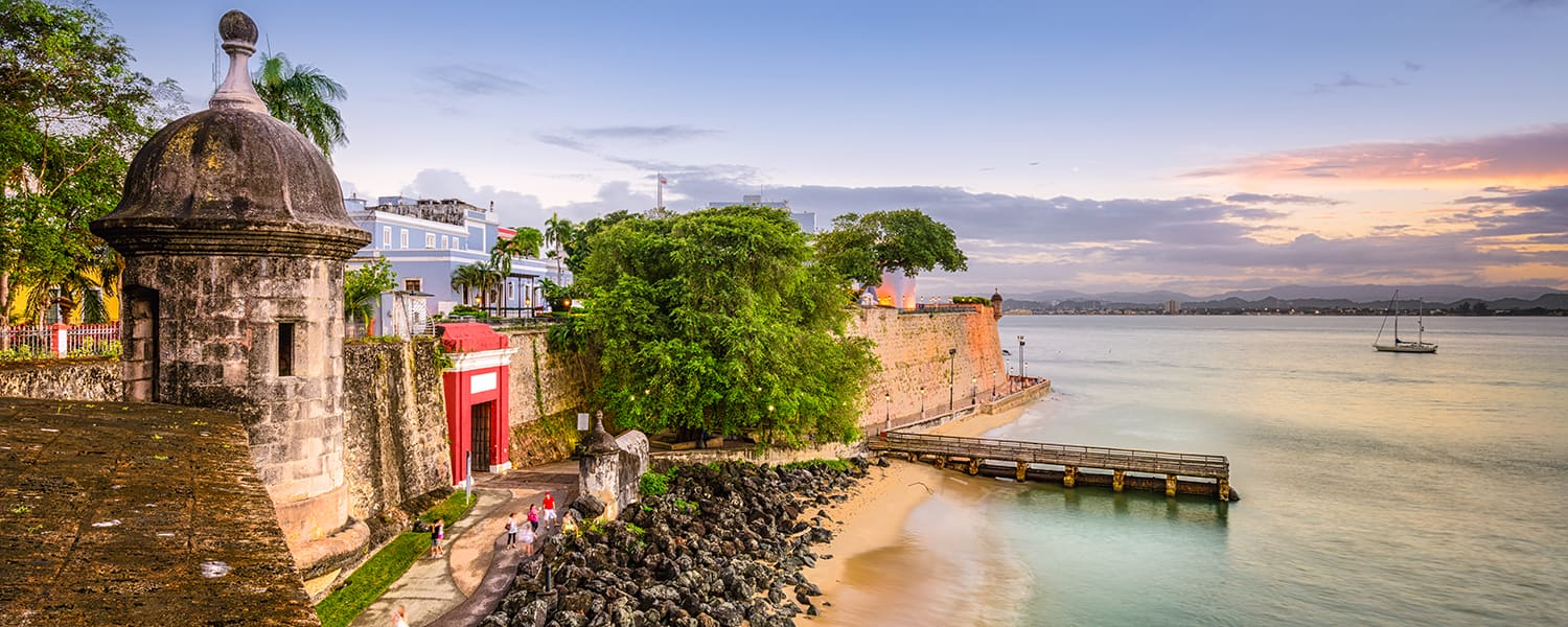 Find flights from Guayaquil (GYE) to San Juan (SJU) from USD 698*