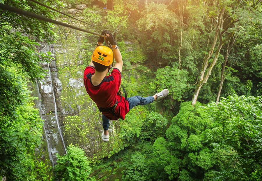 Puerto Rico is an excellent destination for thrill-seekers