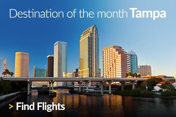 Discover our Destination of the Month: Tampa