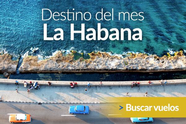 Havana es nuestro Destino del Mes - Encuentra vuelos