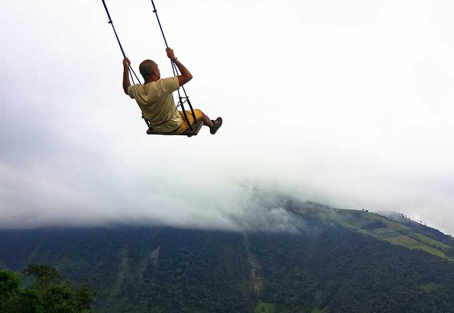 Equador é um país cheio de lugares deslumbrantes, alguns mais próximos à capital que outros.