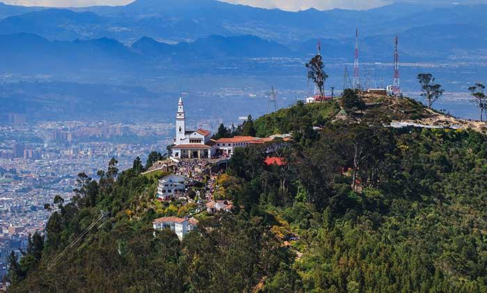 Cerro Monserrate en Bogotá