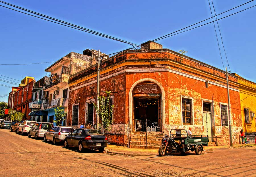 Asuncion's historic district is one of the best-preserved places