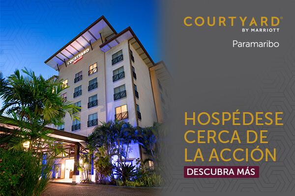 Courtyard by Marriott - Paramaribo - Hospédese cerca de la acción - Descubra más