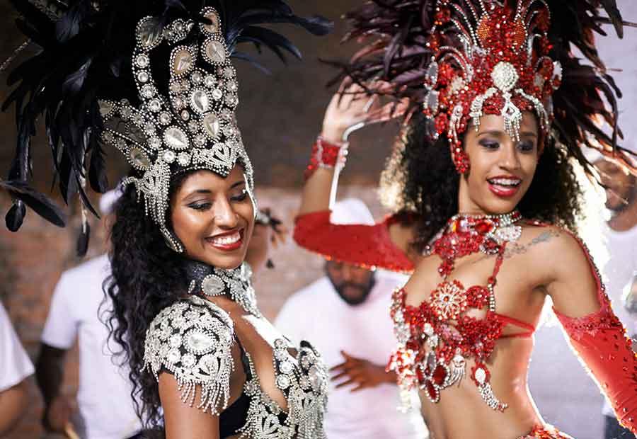 La batalla de las Escuelas de Samba