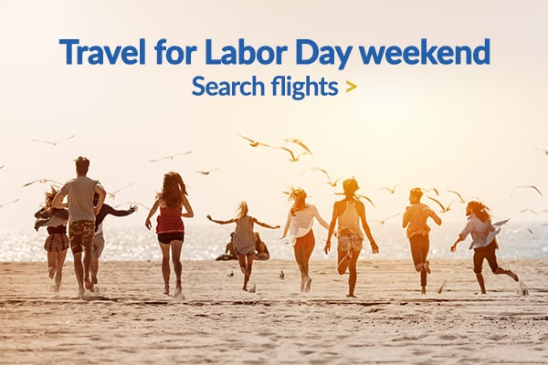 Travel for Labor Day's weekend