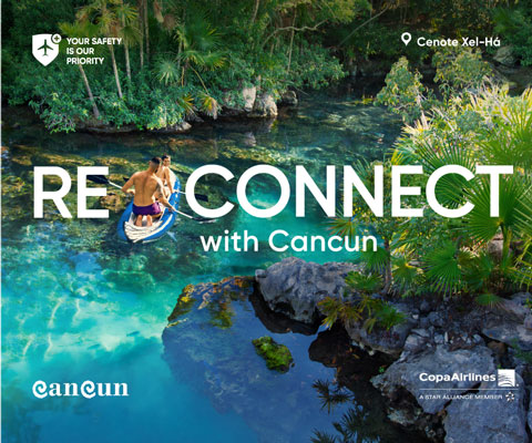 Reconnect with Cancun