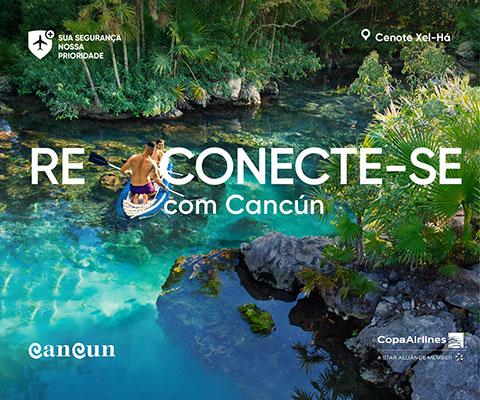 Reconecte-se com Cancún